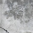 Royalty-Free Stock Photo: Grunge gray wall stucco texture, dark natural grey rustic concrete