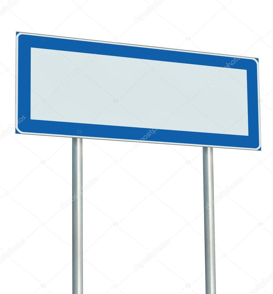 panneau de signalisation informations isol espace copie vierge panneau vide photographie. Black Bedroom Furniture Sets. Home Design Ideas