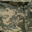 Universal camouflage pattern cargo storage pocket, army combat u — Stock Photo #46105171