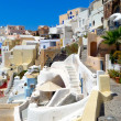Beautiful view of oia in santorini — Stock Photo