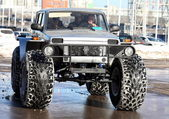 "Second International offroad exhibition ""VEZDEHOD 2013"", 21-24 a — Stock Photo"