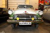 MOSCOW, RUSSIA - MARCH 9: Retro automobile GAZ Volga at the XXI — Stock Photo