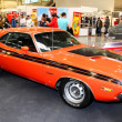 Постер, плакат: MOSCOW MARCH 9: Dodge Challenger is exposed at the XXI Interna