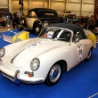 Stock Photo: MOSCOW, RUSSI- MARCH 9: Porsche 356C 1964 at XXI Internati