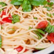 Vegetarispaghetti — Stock Photo #12129406