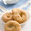 Sweet taralli closeup — Stock Photo