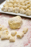 Gnocchi mixture — Stock Photo