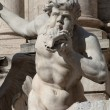 Trevi's Fountain Statue Detail — Stock Photo #22304081