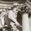 Ocestatue detail at Fontandi Trevi — Stock Photo #22304083