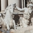 Trevi's Fountain Statue Detail — Stock Photo #22304097