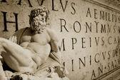 Roman Wallpaper — Stock Photo