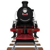 Buharlı lokomotif — Stok Vektör