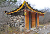 House with Tibetan style — Stock Photo
