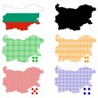 Stock Vector: Bulgaria