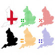 England — Stock Vector