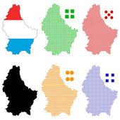 Luxembourg — Stock Vector