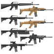 Carbines — Stock Vector