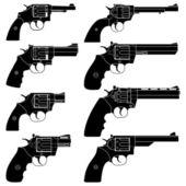 Revolver — Stock Vector