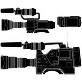Video Camera — Stock Vector