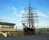 Dundee Royal Research Ship Discovery — Stock Photo