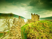 Old castle Scotland — Stock Photo
