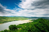 Danube curve — Stock Photo