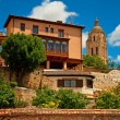 Nice house in the old town of Segovia — Stock Photo