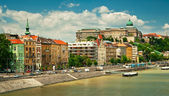 Nice houses in Budapest city — Foto de Stock