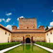 Palacio Nazaries, Alhambra — Stock Photo