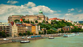 Houses in Budapest city — Photo