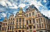 ωραία σπίτια στις βρυξέλλες — Φωτογραφία Αρχείου