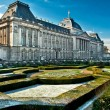 Stock Photo: the royal palace in center of brussels