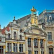 Houses of the famous Grand Place — Stock Photo