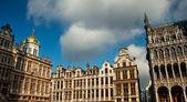 ブリュッセル グランプラス建物 — ストック写真
