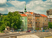 Nice houses in Budapest city — Stockfoto