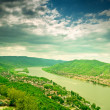 Stock Photo: Danube curve