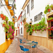 Patio in Cordoba — Stock Photo