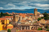Old town of Segovia — Stock Photo