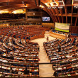 Plenary room of the European Parliament in Strasbourg — Stock Photo #35530381
