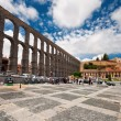 Aqueduct in Segovia — Stock Photo