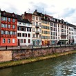 Nice houses in Petite-France in Strasbourg — Stock Photo #35539801