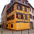 Typical houses in the old town of Strasbourg — Foto Stock