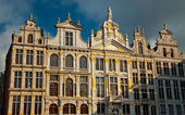 Houses of the famous Grand Place — Photo