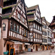 Cafes in Petite-France in Strasbourg — Stock Photo