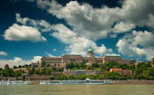 Nice view on Budapest at summer — Stock Photo