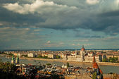 Nice view on the city of Budapest — 图库照片