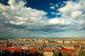 Nice view on the city of Budapest — Stock Photo