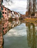 Historic area in the center of Strasbourg. — Stock Photo