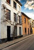 Belle case a Brugge — Foto Stock