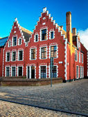 Buildings in Bruges — Stock Photo